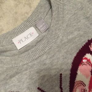 Children's Place Shirts & Tops - 2 Children's Place pull over Sweaters rose gold